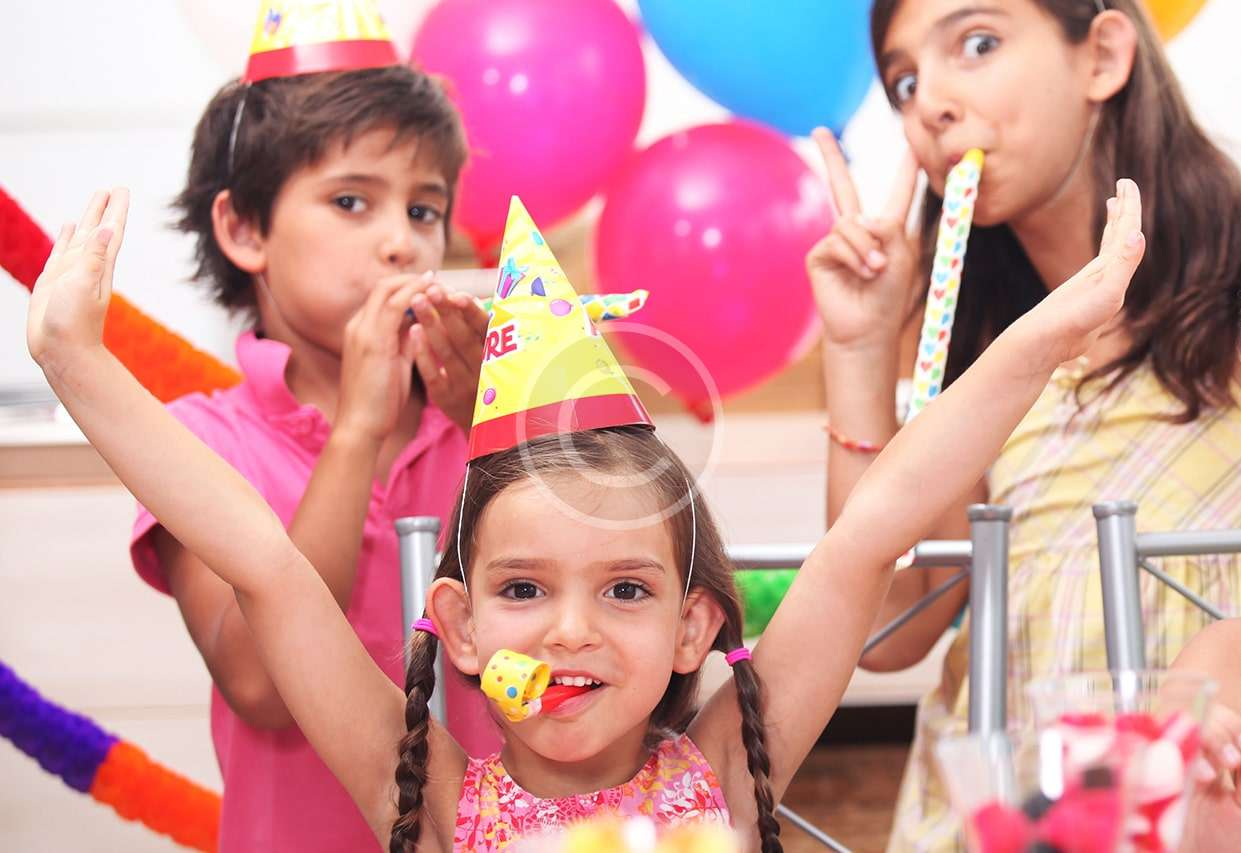 Child's At-Home Birthday Party